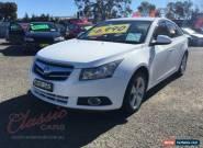 2009 Holden Cruze JG CDX White Manual 5sp M Sedan for Sale
