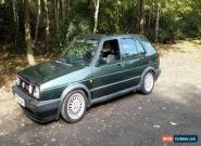 VW GOLF GTI mk2 16v 1991 OAK GREEN.. RARE COLOUR for Sale