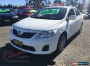2011 Toyota Corolla ZRE152R MY11 Ascent White Automatic 4sp A Sedan for Sale