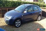 Classic FORD FOCUS ZETEC ( PETROL ) MANUAL  56 PLATE 5 DOOR IN BLUE for Sale