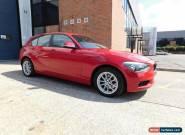 2012 BMW 1 SERIES 120D SE HATCHBACK DIESEL for Sale