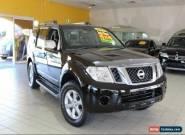 2012 Nissan Pathfinder R51 MY10 ST-L Black Manual M Wagon for Sale