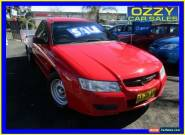 2004 Holden Commodore VZ ONE Tonner Red Automatic 4sp A Cab Chassis for Sale