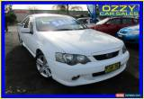 Classic 2003 Ford Falcon BA XR6 White Automatic 4sp A Utility for Sale