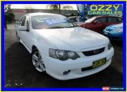 2003 Ford Falcon BA XR6 White Automatic 4sp A Utility for Sale