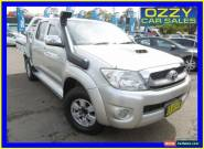 2010 Toyota Hilux KUN26R 09 Upgrade SR5 (4x4) Gold Automatic 4sp A for Sale