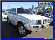 2010 Nissan Patrol GU VI TI (4x4) White Automatic 4sp A Wagon for Sale