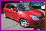 Classic 2010 Suzuki Swift EZ Extreme Maroon Automatic 4sp A Hatchback for Sale
