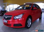 2009 Holden Cruze JG Red Manual M Sedan for Sale
