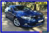 Classic 2009 Ford Falcon FG XR6 Blue Automatic 6sp A Sedan for Sale