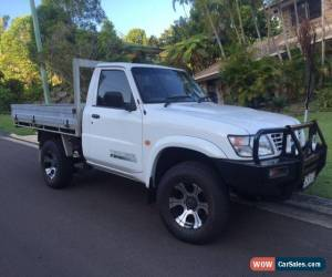 Classic Nissan Patrol Cab chassis, 4.2 TD (Leaf) NO RESERVE for Sale