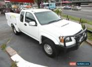 2011 Holden Colorado RC MY11 LX (4x4) White Manual 5sp M Spacecab for Sale