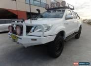 2012 Toyota Hilux SR5 UPGRADE SR5 UPGRADE Manual 5sp M Dual Cab for Sale