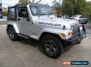 2007 Jeep Wrangler JK Sport (4x4) Silver Automatic 4sp A Softtop for Sale