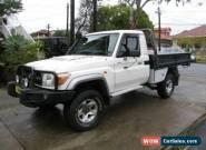 2011 Toyota Landcruiser VDJ79R 09 Upgrade GXL (4x4) White Manual 5sp M for Sale