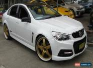 2014 Holden Commodore VF MY15 SS White Automatic 6sp A Sedan for Sale