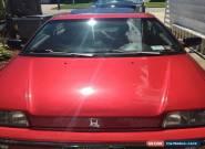 1990 Honda CRX for Sale