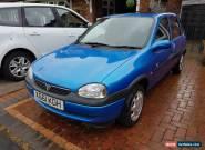 2000 VAUXHALL CORSA CLUB 1.2 16V BLUE MOT for Sale