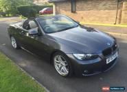 2007 BMW 330D M SPORT  GREY AUTO EXCELLENT CONDITION FSH for Sale