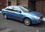 FORD FOCUS 2.0L GHIA BLUE 2000 for Sale