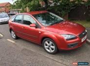 Ford Focus, 1.6 Zetec, Metallic Red, 85K for Sale