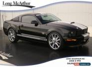 2007 Ford Mustang SHELBY GT SUPERCHARGED COUPE for Sale