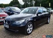 2008 BMW 520D DIESEL SE BLACK SALOON MANUAL for Sale