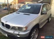 2002 BMW X5 SPORT AUTO SILVER for Sale