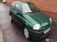 2001 RENAULT CLIO GRANDE 1.2 RN GREEN for Sale