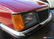 HOLDEN-1980 VC COMMODORE L-SEDAN-FACTORY MANUAL-LOW KILOMETRES for Sale