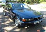 Classic 1999 BMW 528I SE TOURING AUTO BLUE for Sale