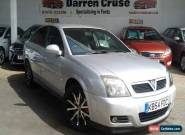 2005 VAUXHALL VECTRA ELITE DIRECT AUTO SILVER INTERMITTENT GEARBOX FAULT for Sale