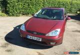Classic 2003 FORD FOCUS GHIA TDCI RED for Sale