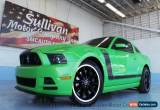 Classic 2013 Ford Mustang 2dr Coupe Boss 302 for Sale