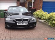 BLACK 5 DOOR BMW 320D SE 2007 10 MONTHS M.O.T FULL SERVICE HISTORY for Sale