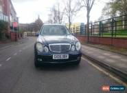 2005 BLACK CLASSIC MERCEDES AUTO 2.1 L CDI WITH LEATHER SEATS for Sale