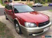 Subaru Outback (1999) 4D Wagon 4 SP Automatic (2.5L - Multi Point F/INJ) for Sale