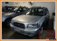 2003 Subaru Forester MY03 X Silver Automatic 4sp A Wagon for Sale