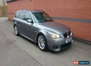 2008 BMW 535D M SPORT TOURING A GREY for Sale