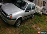 2000 FORD FIESTA SILVER SPARES OR REPAIRS  for Sale