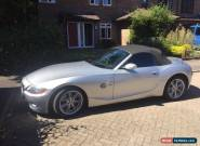 2004 BMW Z4 3.0I SILVER MANUAL for Sale