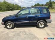 2002 Chevrolet Tracker for Sale