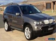 BMW X5 E53  4.4  AUTOMATIC  for Sale