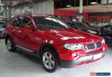 Classic 2007 BMW X3 E83 MY07 2.0D Red Automatic 6sp A Wagon for Sale