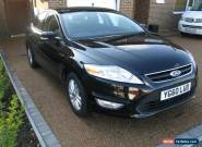Ford Mondeo 2.0 TDCi Zetec 5dr 2010 (60 reg) Hatchback 6 miles Manual 2.0L for Sale