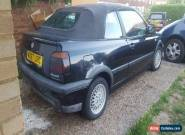 1995 VOLKSWAGEN GOLF AVANTGARDE CABRIO BLUE SPARES OR REPAIR  for Sale