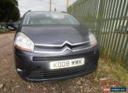 2008 CITROEN C4 PICASSO 7 VTR+ HDI A MAUVE/PURPLE FOR SPARES OR REPAIR for Sale