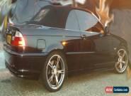 BMW Convertible Auto 330ci Cosmos Black + HardTop for Sale