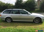 BMW 530i 2003(53) e39 TOURING M-SPORT AUTO SILVER for Sale