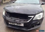 2008 VOLKSWAGEN PASSAT GT 170 TDI S-A BLACK - DAMAGED SALVAGE  SPARES OR REPAIRS for Sale